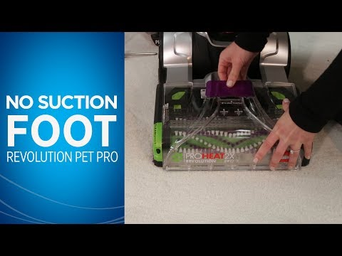 ProHeat 2X® Revolution™ Pet Pro No Suction at Foot Video