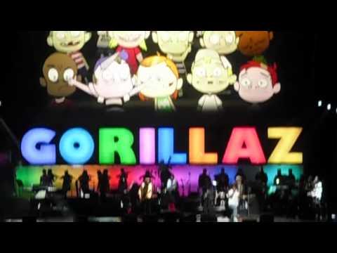 Gorillaz - Dirty Harry, MSG, NYC,10/8/10 - смотреть онлайн