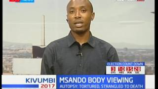 Chris Msando body viewing : Public viewing at the Lee Funeral Home