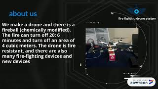 Fire fighting drone system