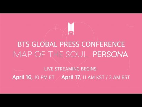 BTS Global Press Conference 'MAP OF THE SOUL : PERSONA' - BANGTANTV