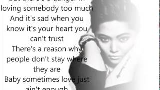 Sometimes Love Just Ain't Enough Lyric Video by «Charice»