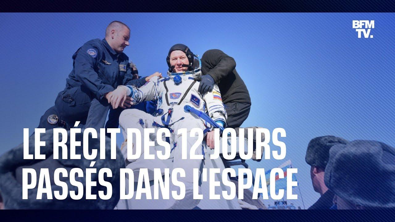 Fin de tournage pour les Russes: récit des 12 jours passés à bord de l'ISS
