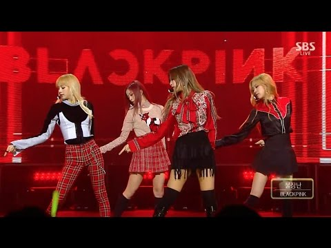 BLACKPINK - '불장난 (PLAYING WITH FIRE)' 1120 SBS Inkigayo