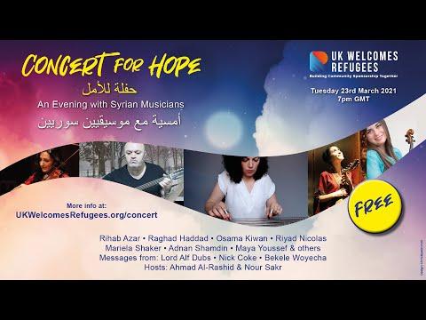 Concert for Hope – UK Welcomes Refugees