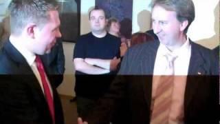 preview picture of video 'Wahlen im Landkreis Regen - Stichwahlkandidaten Michael Adam und Helmut Plenk | unserRadio'