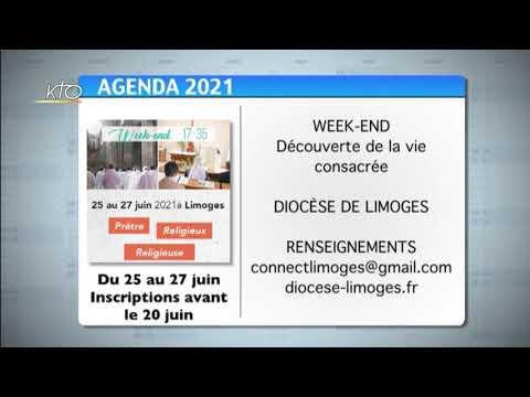Agenda du 11 juin 2021