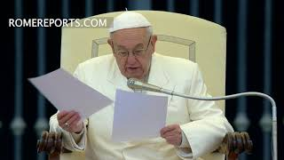 El Papa explica el sentido del Credo y de la oración de los fieles