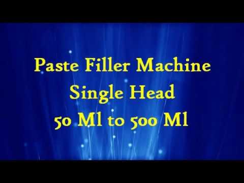Liquid Paste Filler Machine