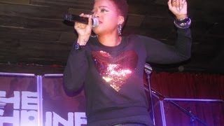 """Chrisette Michele Performs """"Charades"""" live at The Shrine Chicago"""