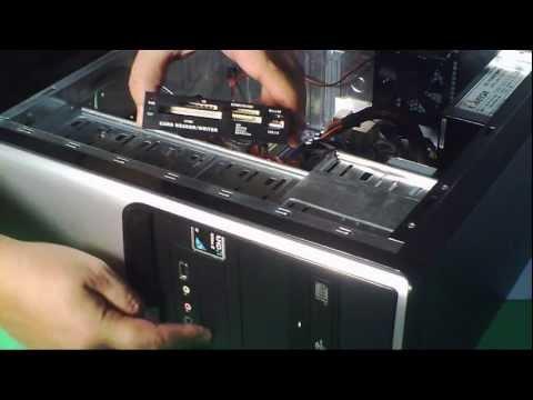 INSTALAR LECTOR DE TARJETAS MEMORIAS INTERNO INTERNAL USB CARD READER SD MICROSD XD MS PRO