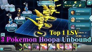 Hoopa  - (Pokémon) - Dùng 3 Pokemon HOOPA UNBOUND Vượt Ải Tổ Đội Liên Server Siêu Tốc - New Pokemon Game Theory 2018