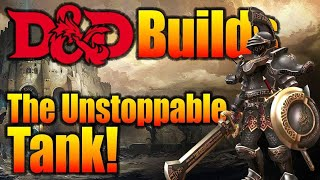Nerdarchy DnD 5e Builds- The Unstoppable Tank