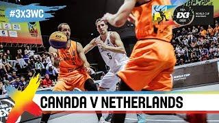 Canada v Netherlands | Full Game | Quarter-Final | FIBA 3x3 World Cup 2018