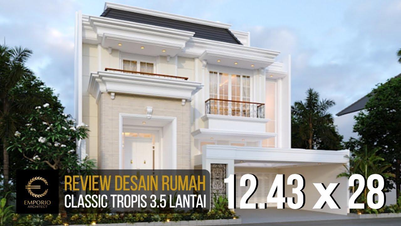 Video 3D Mrs. Wiena Classic House 3.5 Floors Design - Jakarta Selatan