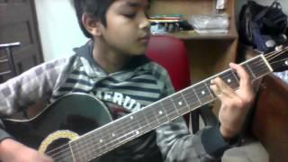 Badal pe paon hai guitar lesson - YouTube