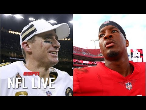 Can Jameis Winston bounce back for the Bucs? Will the Saints win the NFC South again? | NFL Live