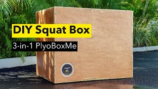 DIY Squat Box | Build Your Plyo Box With On Sheet Of Plywood