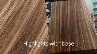 Luxury Caramel Hair Color With Blonde Highlights By Nazia Khan