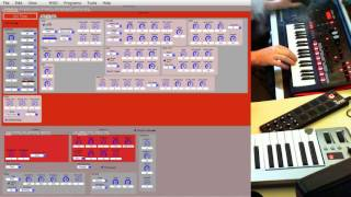 Roland JD-Xi Tutorial - Creating Animated Pads with the JD Xi Editor  -
