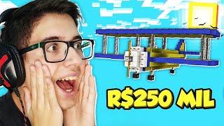 😱 DESAFIO: BATALHA DE CONSTRUÇÃO de R$250 MIL no Minecraft 999QI (React)