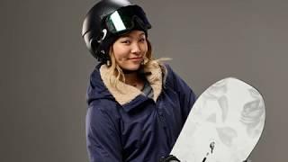 ChloeKimisanAmericansnowboarderathalfpipeatWinterOlympicsPyeongchang,2018