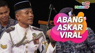 Abang Askar VIRAL sebab rap lagu Negaraku | Pancaragam Pusat TUDM | MeleTOP