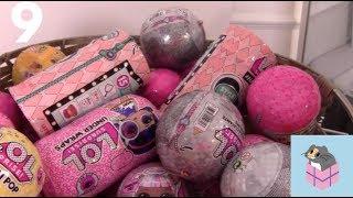 Random LOL Suprise Basket 9! LOL Surprise Confetti Pop Dolls + LOL Pets Wave 1 and Wave 2