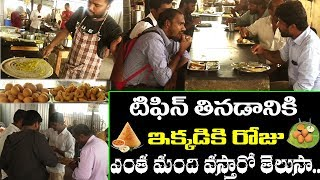 Crazy Breakfast in Early Morning | Dosa | Puri | Hyderabad Street Food | PDTV Foods