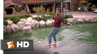 Back To The Future Part 2 3/12 Movie CLIP  Hover Board Chase 1989 HD