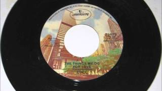 The Things We Do For Love , 10 CC , 1976 Vinyl 45RPM
