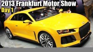 2013 Frankfurt Motor Show Day