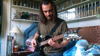 Arch Enemy Mechanic God Creation guitar cover