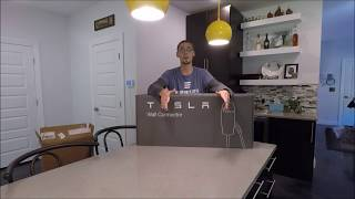 tesla wall connector installation outside - मुफ्त