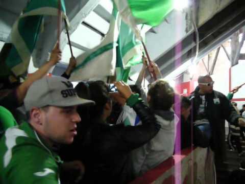 """Sali campeón, me fui a la B, pero jamás abandoné"" Barra: La Banda 100% Caballito • Club: Ferro Carril Oeste"