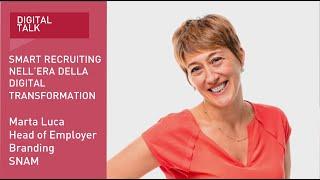 Youtube: Digital Talk | Smart Recruiting nell'era della Digital Transformation | Speech