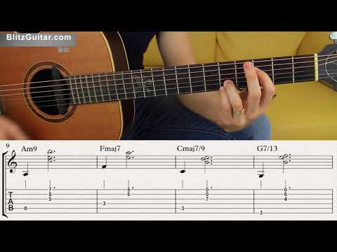 Extended Chords on Fingerstyle Guitar | Learn Extended Chords