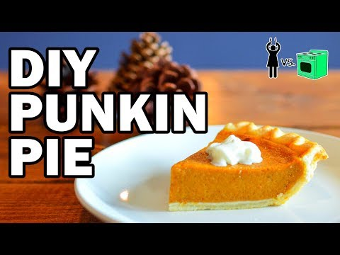 DIY Punkin Pie, Corinne Vs Cooking