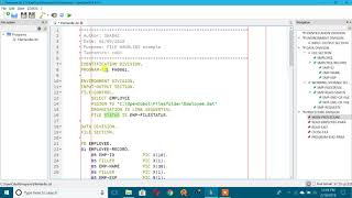 Practice COBOL File Handling at Home in Windows PC using Open COBOL IDE