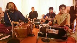 gulon me rang# ghazal-hariharan sahab#by ramjisonu tripathi harmonium