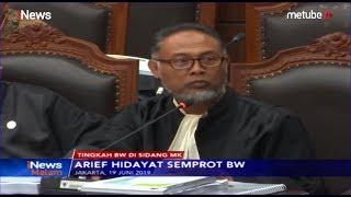 Tingkah BW di Sidang MK, Disemprot Hakim hingga Debat dengan Luhut Pangaribuan - iNews Malam 21/06