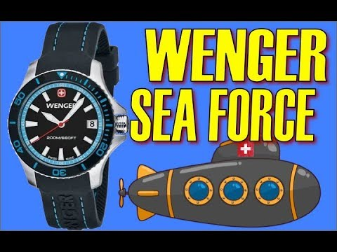 Wenger Squadron GMT, SeaForce Swiss Watches