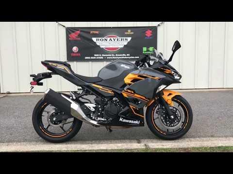 2018 Kawasaki Ninja 400 ABS in Greenville, North Carolina - Video 1