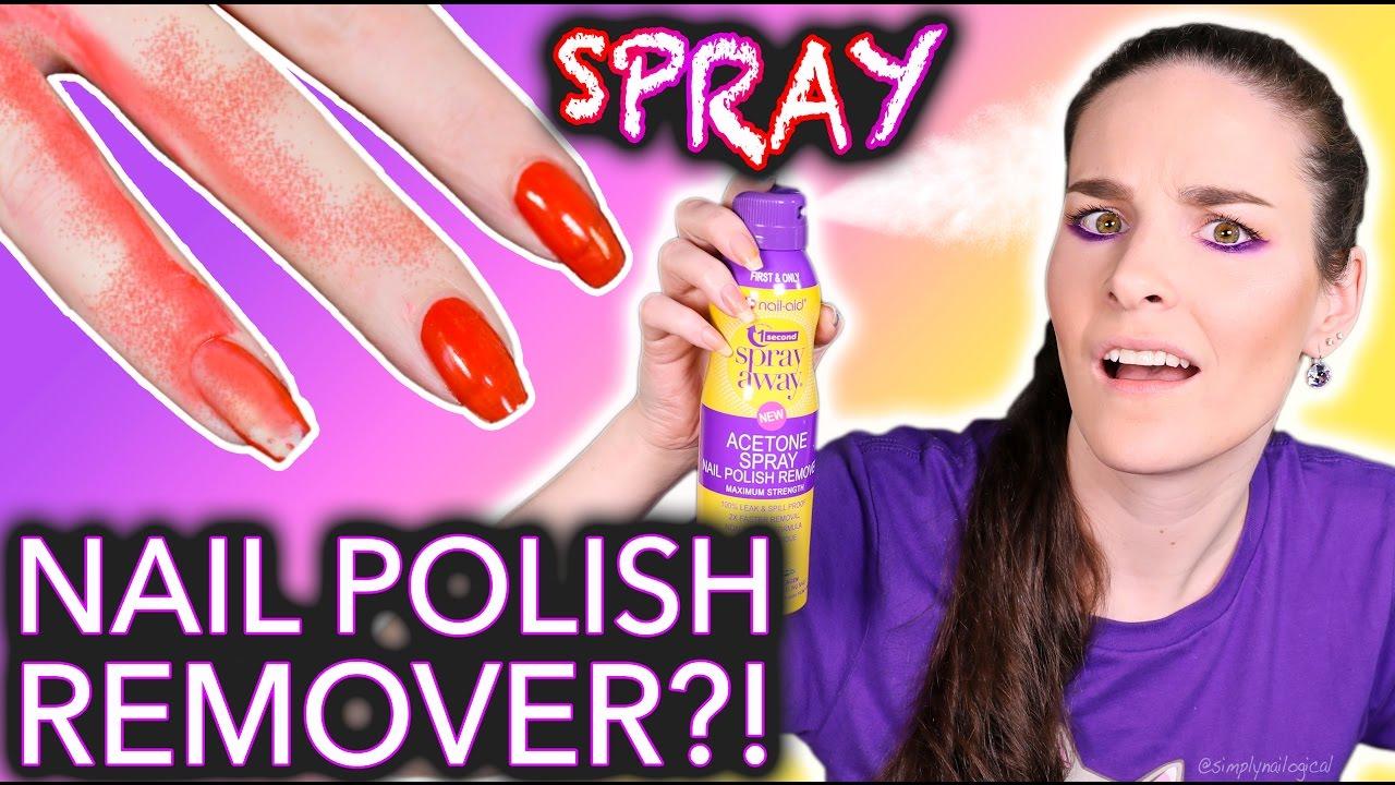 WTF Spray Nail Polish Remover?! *do not breathe* thumbnail