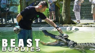 'Reptile King' Is Best Friends With Giant Gator | BEAST BUDDIES