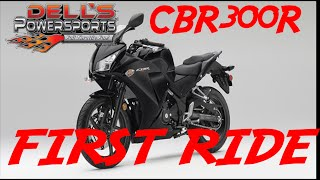 CBR300R First Ride and Review. Great Bike Great Price