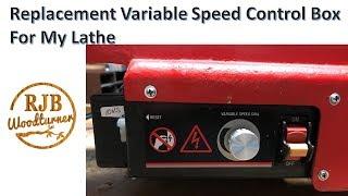 Lathe Motor Speed Control