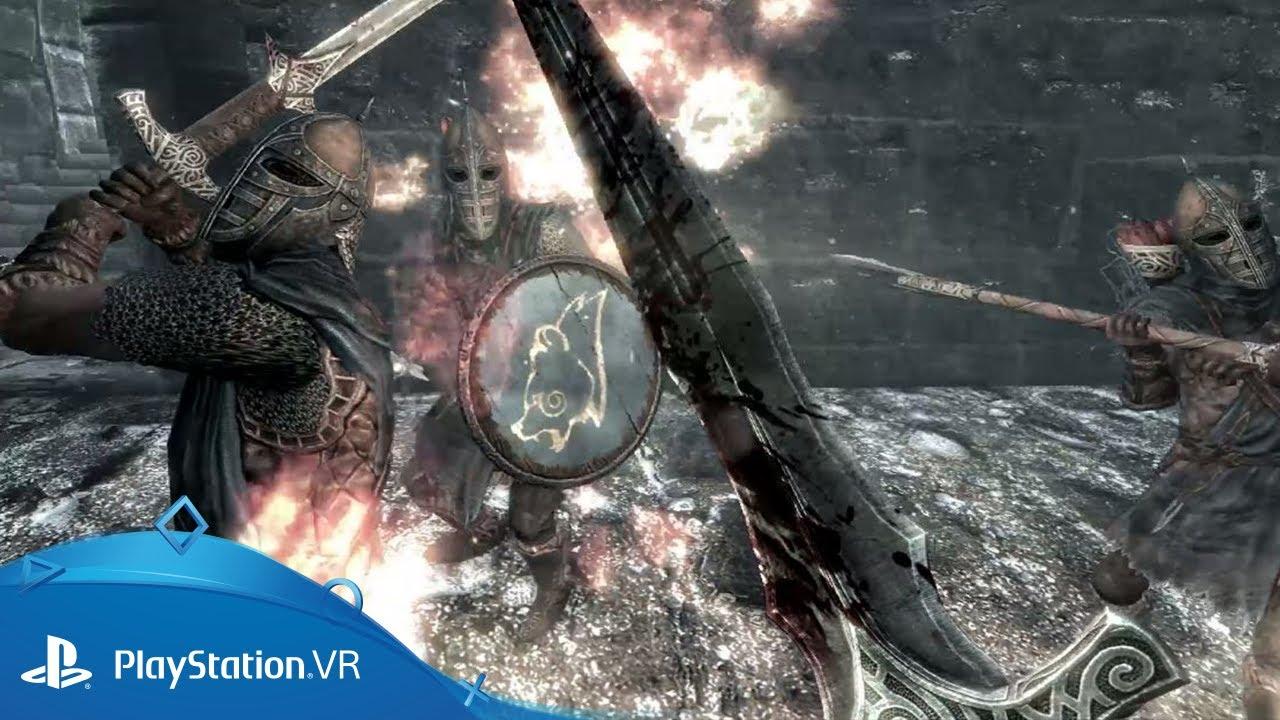 The Elder Scrolls V: Skyrim для PlayStation VR — первые впечатления