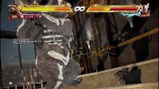 鉄拳7season2 クマパン ウォールバウンドコンボ