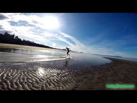 Video Nanaimo's Best Beach? 22 minutes from Living Forest